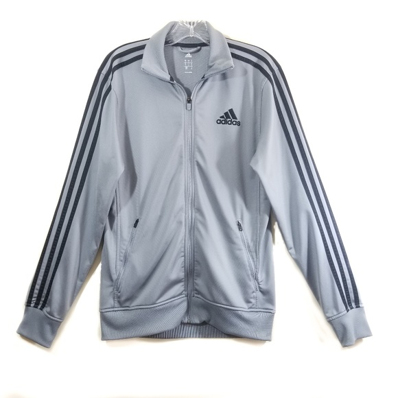 90'S Adidas Track Top 3 Stripe Jacket